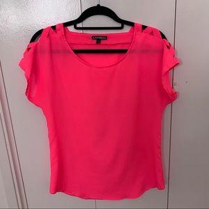 Express Hot Pink Top